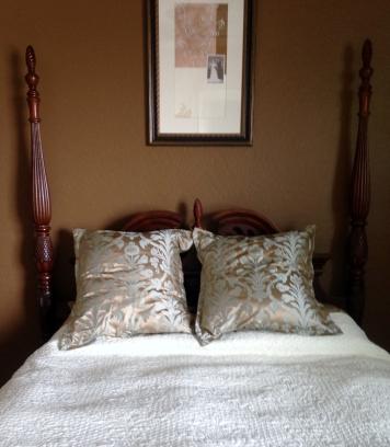 Lighten Up Project  - Pillow Transformation
