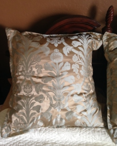 Silk Damask:  sheen and matte textures.