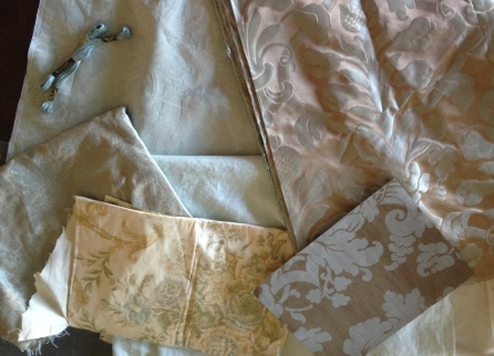 Fabrics for Lightening Up Project