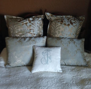Lots of LIghtened Up Pillows!