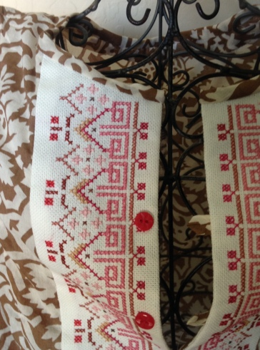 Folkloric Counted Cross Stitch