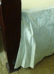 Wrap-around Pleats