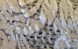 Knit Faux Lace - Too Fragile to Wea