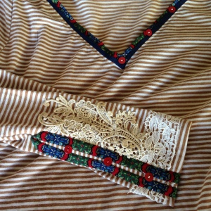 Sleeve and Neckline Embellishments