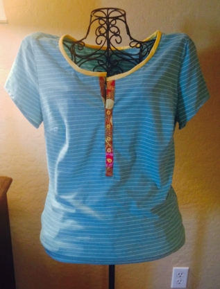 Fit and Fabulous T-shirt Remake