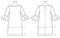 Vogue 9062 - Bra Cup sized tunic pattern