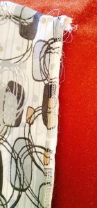 """Zipper Sandwich"" Note position of top zipper tape end."
