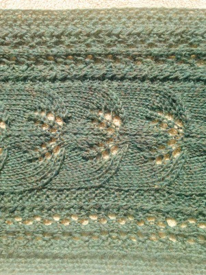 Scarf during blocking