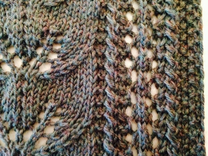 Detail of stitches