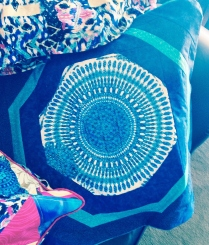Bohemian Mandala Pillow