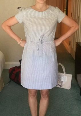 lydias dress 1 on her